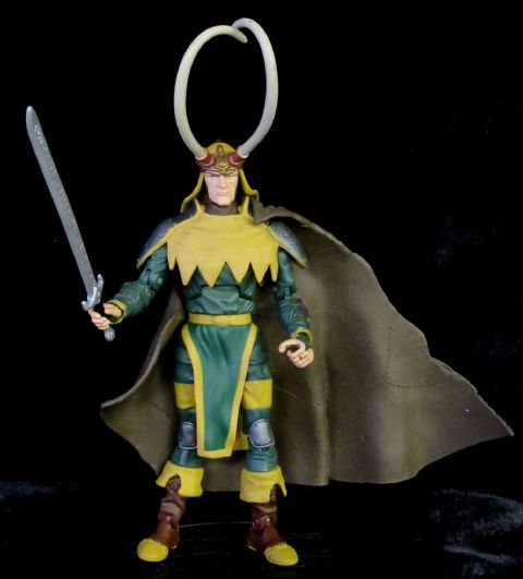 Marvel Legends  'Onslaught' Series: Loki - Complete Loose Action Figure
